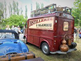 Citroen Type HY Utilitaire  -  Publicité Distillerie L'Alambic  -  15x10cms PHOTO - Camions & Poids Lourds