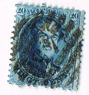N°15 - Stempel : 45 GAND 8 Barres - 1863-1864 Médaillons (13/16)