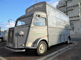 Citroen Type HY Utilitaire  -  Publicité Jardin Partagé   -  15x10cms PHOTO - Camions & Poids Lourds
