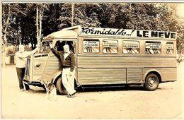 Citroen Type HY Utilitaire  -  Publicité La Neve  -  15x10cms PHOTO - Camions & Poids Lourds