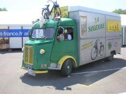 Citroen Type HY Utilitaire  -  Publicité La Solexine  -  15x10cms PHOTO - Camions & Poids Lourds