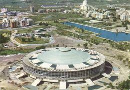 ROMA EUR - PALAZZO DELLO SPORT - RIPRESA AEREA - IL LAGO - NUOVO PALAZZI - 1962 - Estadios E Instalaciones Deportivas