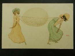 CPA Femmes  Pâques Raphael KIRCHNER Illustrateur - Kirchner, Raphael