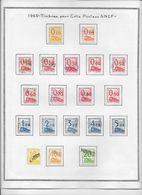 France Colis Postaux - Collection Vendue Page Par Page - Timbres Oblitérés - TB - Usados