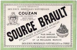 BUVARD  ** SOURCE BRAULT  ** - Papel Secante