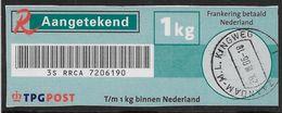 Aangetekend 5 Kg. - Sticker - Paesi Bassi