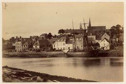 Photo Albuminé Bretagne Auray Vers 1880 - Oud (voor 1900)