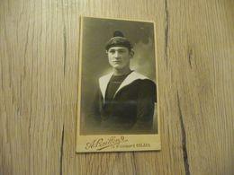 Photo Cabinet Format CDV A.Raillon Calais Marin Marine Militaire - Guerra, Militares