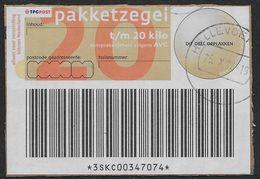 2002 - Pakketzegel - Paesi Bassi
