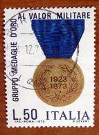 1973 ITALIA Medaglia  Gruppo Medaglie D'oro Al Valor Militare  - 50 Lire Usato - 1971-80: Gebraucht
