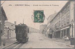 Limonest , Grande Rue Et Terminal Du Tramway , Animée - Altri Comuni