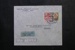 SIAM - Enveloppe Commerciale De Bangkok Pour L 'Allemagne Par Avion En 1938, Affranchissement Plaisant - L 62978 - Siam