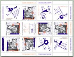 France Mini Feuille 2020 Boris Vian 100 Ans 1920-2020 MNH / Neuf** - Blocs & Feuillets
