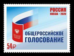 Russia 2020 Mih. 2879 Russian Constitutional Referendum MNH ** - Ungebraucht