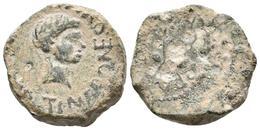 CARTAGONOVA. Semis. Época De Augusto. 27 A.C. - 14 D.C. Cartagena (Murcia). A/ - Autres Pièces Antiques