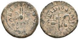 CARTAGONOVA. Semis. Epoca De Augusto. 27 A.C.-14 D.C. Cartagena (Murcia). A/ Fl - Autres Pièces Antiques