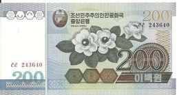 COREE DU NORD 200 WON 2005 UNC P 48 - Korea (Nord-)
