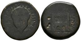EMERITA AUGUSTA. Dupondio. Epoca De Augusto. 27 A.C. Mérida (Badajoz). A/ Busto - Autres Pièces Antiques