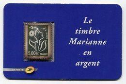 RC 13614 FRANCE N° 3925 / 85 MARIANNE DE LAMOUCHE 5€ EN ARGENT NEUF ** A LA FACIALE - France
