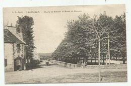 Lesneven (29 - Finistère) Champ De Bataille Et Route De Guissény - Lesneven