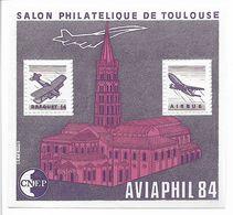 Bloc CNEP N°5 Aviaphil, Neuf, Adhérence Au Verso (au Centre Du Bloc) Sinon TB, Cote 45 Euros, Voir Photos - CNEP