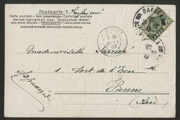 """RUSSIE / RUSSIA TARIF IMPRIME D'ODESSA ( Одеса ) EN 1903 SUR CP POUR LA FRANCE Avec Mention Manuscrite """"Imprimé"""". TB - Covers & Documents"""