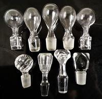 Bouchon De Carafe Ancien. Lot De 9 - Glass & Crystal