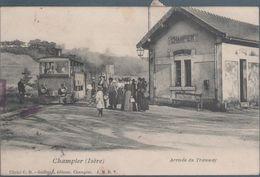 Champier , Arrivée Du Tramway , Animée - Francia