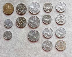 Nuova Caledonia Lotto Di 16 Monete Miste FDC - New Caledonia