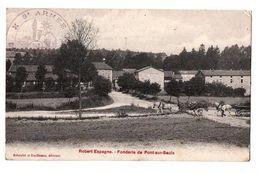 ROBERT ESPAGNE FONDERIE DE PONT SUR SAULX ANIMEE - Francia