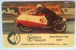 £6 Isle Of Man Bob McIntyre 1957 9IOMB - Ver. Königreich