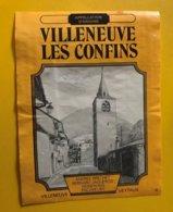 11734 - Villeneuve Les Confins - Etiquetas