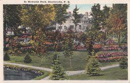 Howards Park Parc Howard - Sherbrooke Québec - Unused - 2 Scans - Valentine-Black - Sherbrooke