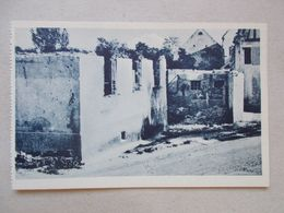 CPA DE GERTWILLER Novembre 1944 - Maison Balzinger - Frankreich
