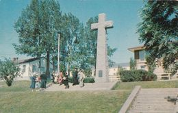 Gaspé Gaspésie Québec - Croix Jacques-Cartier Cross - Written 1957 (?) - Stamps - 2 Scans - Sherbrooke