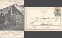 Carte Postale - Congo : N°25 Vierge à Vendre (R. Visser) / Voyagée Vers La Suède. - Congo Belge - Autres
