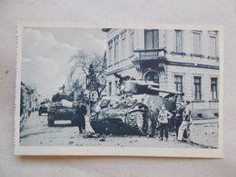 CPA DE BARR Libération De Barr 28/11/1944 - Les Chars Passent Dans La Rue Du Général Vandenberg - Barr