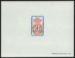 St. Pierre & Miquelon 1968 - Mi-Nr. 430 ** - MNH - Epreuve De Luxe - Imperforates, Proofs & Errors