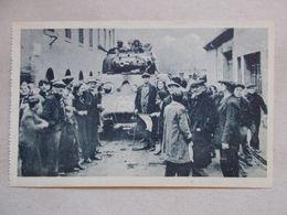 CPA DE BARR Libération De Barr 28/11/1944 - Les Chars Et La Foule - Barr