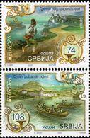 Serbia - 2020 - Europa CEPT - Ancient Postal Routes - Mint Stamp Set - Serbia