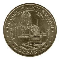 Monnaie De Paris , 2009 , Locronan , église Saint Ronan , XVe S - Monnaie De Paris