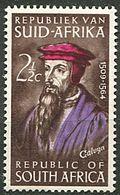 Afrique Du Sud * N° 280 - Jean Calvin, Réformateur Protestant - Afrique Du Sud (1961-...)