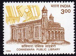 India 1998 Centenary Of Connemara Public Library, MNH, SG 1821 (D) - Inde