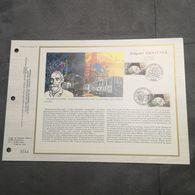 FRANCE CEF Feuillet N°845 FULGENCE BIENVENÜE LE METRO 1987 Premier Jour - Timbre Poste FDC - FDC