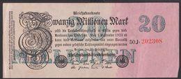 Reichsbanknote 20 Millionen Mark, Ausgabe 25. Juli 1923, Serie 50J - [ 3] 1918-1933 : República De Weimar