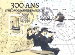 France 2020 Bloc Oblitéré 300 Ans D'hydrographie Française 2V MNH / Neuf** - Oblitérés