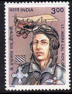 India 1998 Birth Centenary Of Lal Roy, WWI Pilot, MNH, SG 1824 (D) - Inde