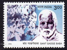 India 1998 Sant Gadge Baba Commemoration, MNH, SG 1825 (D) - Neufs