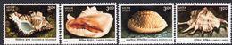India 1998 Sea Shells Set Of 4, MNH, SG 1830/3 (D) - Inde