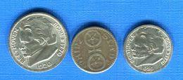3  Jetons - Monedas/ De Necesidad